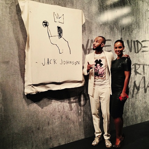 swizz-beatz-alicia-keys-basquiat